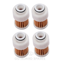 Yamaha & Mercury Mariner 80-115hp Fuel Filter x 4 (OSFF68VM)