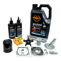 Suzuki 90-115hp 4 Stroke Service Kit with Anodes & Oils (OSSK1AO)