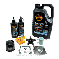 Suzuki 140hp 4 Stroke Service Kit with Oils (OSSK2O)