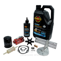 Mercury Mariner 50-60hp 4 Stroke Service Kit with Anodes & Oils (OSSK33AO)