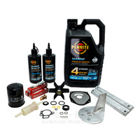 Mercury Mariner 50-60hp 4 Stroke Bigfoot Service Kit with Anodes & Oils (OSSK34AO)