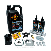 Suzuki DF140Ahp 4 Stroke Service Kit with Anodes & Oils (OSSK38AO)