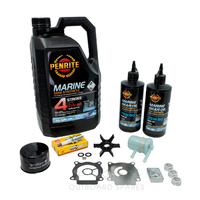 Suzuki DF40-50hp 4 Stroke Service Kit with Anodes & Oils (OSSK39AO)