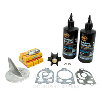 Mercury Mariner 90-150hp 2 Stroke Service Kit with Anodes & Oils (OSSK48AO)