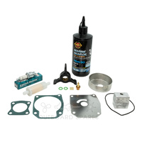 Evinrude Johnson 40-50hp 2 Stroke Service Kit with Anodes & Oils (OSSK51AO)