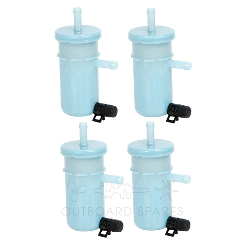 Suzuki 30-90hp Fuel Filter x 4 (OSFFL00M)