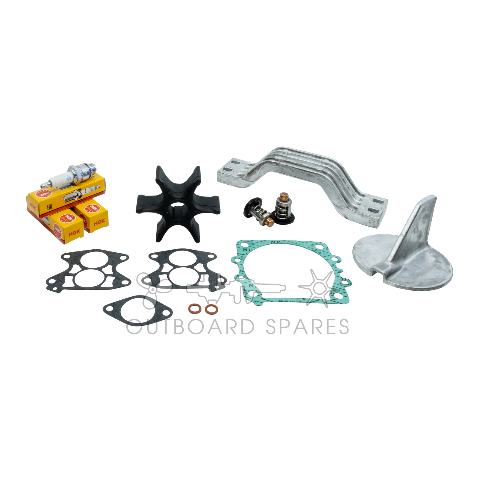 Yamaha Annual Service Kit with Anodes for 130, 140hp V4 2