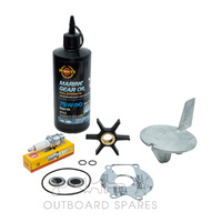 Mercury Mariner 20-25hp 2 Stroke Service Kit with Anodes & Oils (OSSK24AO)