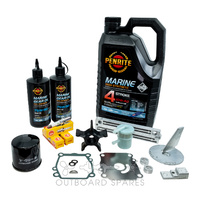 Suzuki 140hp 4 Stroke Service Kit with Anodes & Oils (OSSK2AO)