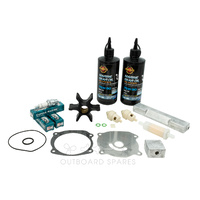 Evinrude Johnson 120-140hp 2 Stroke (S Suffix) Service Kit with Anodes & Oils (OSSK45AO)