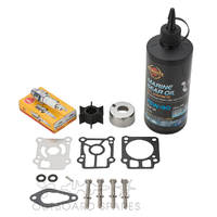 Mercury Mariner & Tohatsu 25-30hp 2 Stroke Service Kit with Oils (OSSK55O)