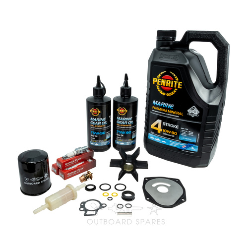 Mercury Mariner 50-60hp 4 Stroke Bigfoot Service Kit with Oils (OSSK34O)