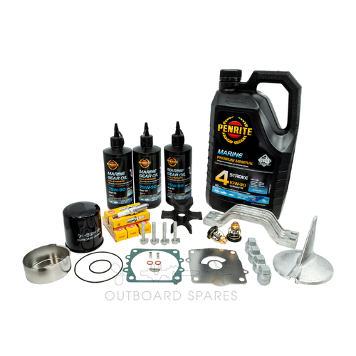 Yamaha F200-225hp 4 Stroke Service Kit with Anodes & Oils (OSSK42AO)