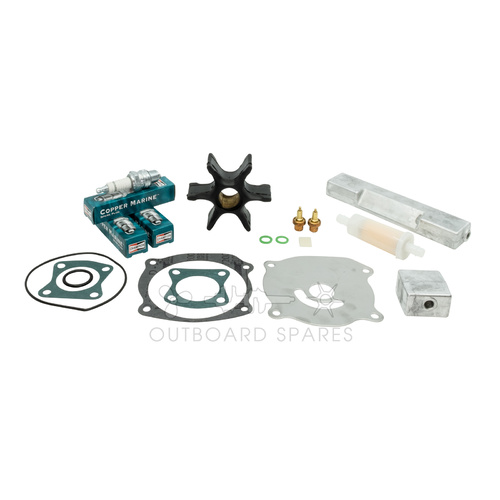 Evinrude Johnson 120-140hp 2 Stroke (F Suffix) Service Kit with Anodes (OSSK46A)