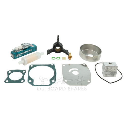 Evinrude Johnson 40-50hp 2 Stroke Service Kit with Anodes (OSSK51A)
